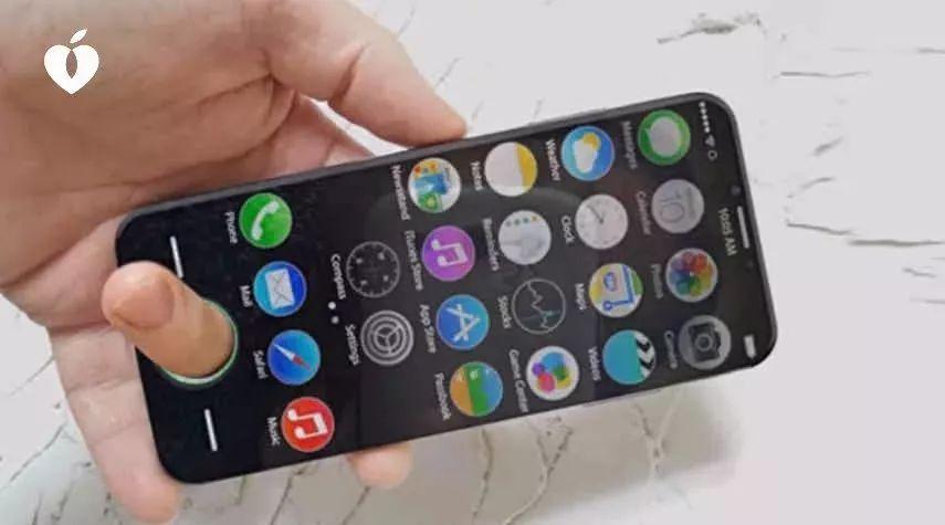 iPhone R 曝光: Home 键是个洞...