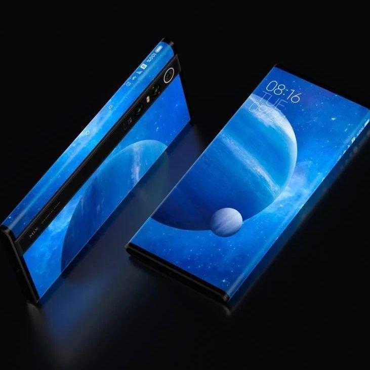 小米MIX α环绕屏手机发布,卖 19999 元,哇哦~