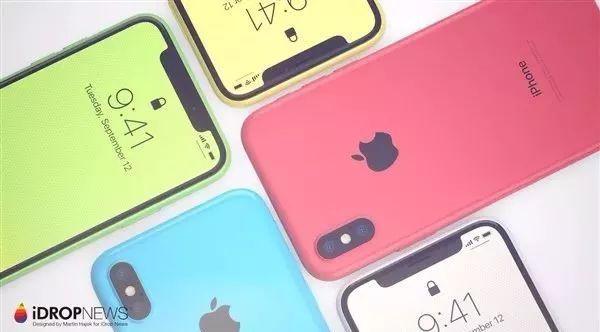 彩虹色的 iPhone Xc 来了...