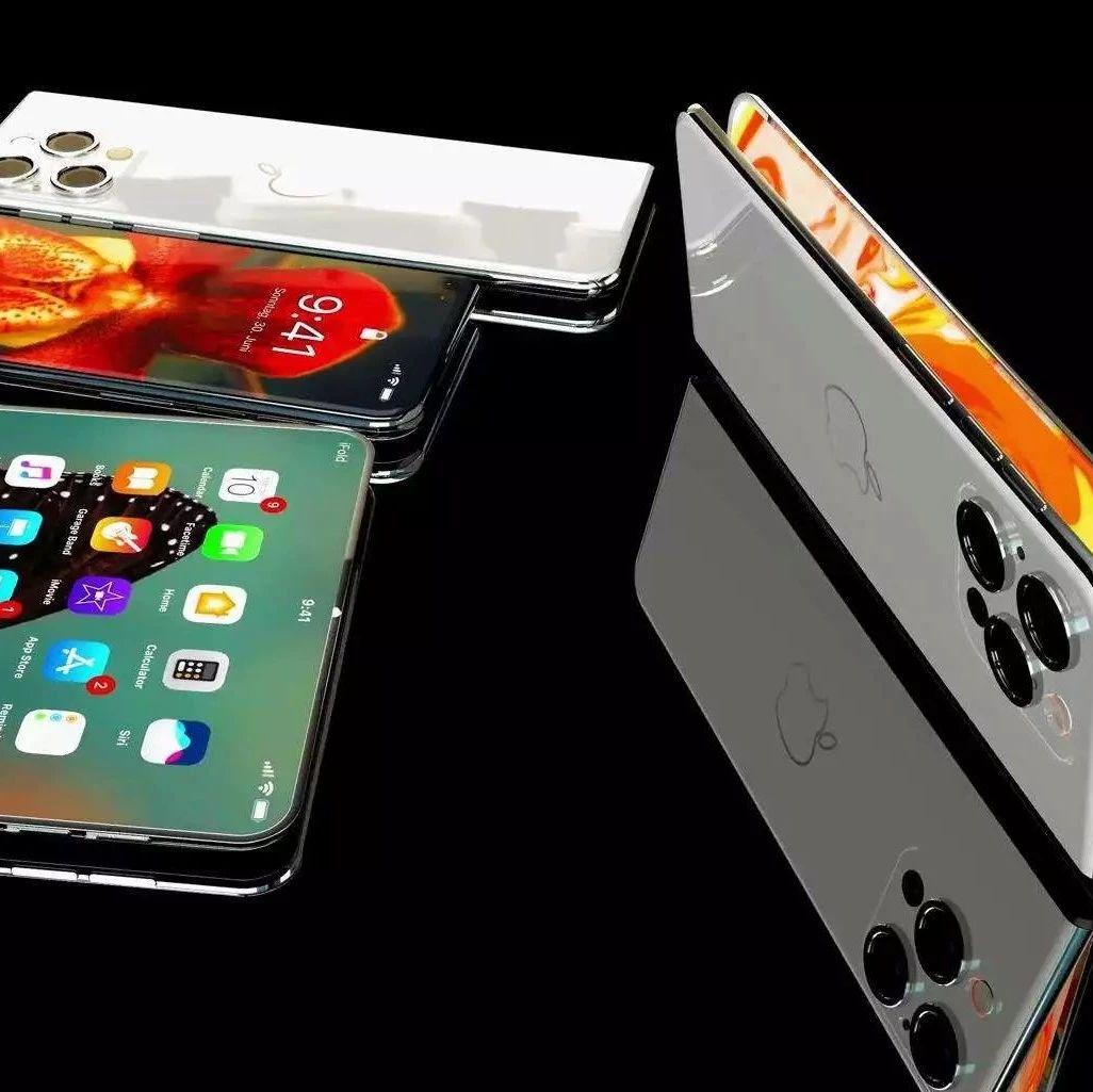 折叠 iPhone 再次曝光,8寸大屏秒变 iPad !
