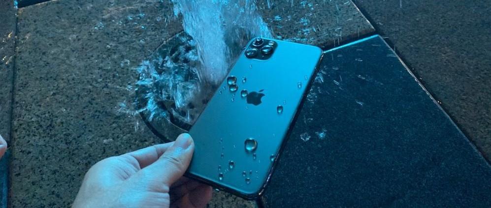 iPhone 11 Pro 进水怎么破?简单~